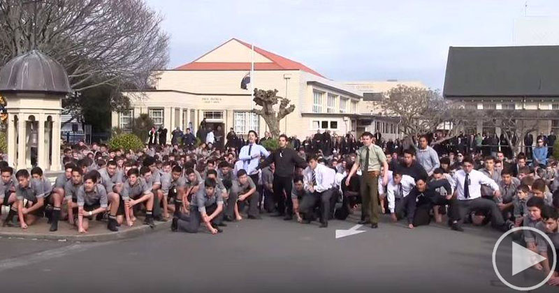 Entire School Performs Emotional Haka for Beloved Teacher's Funeral