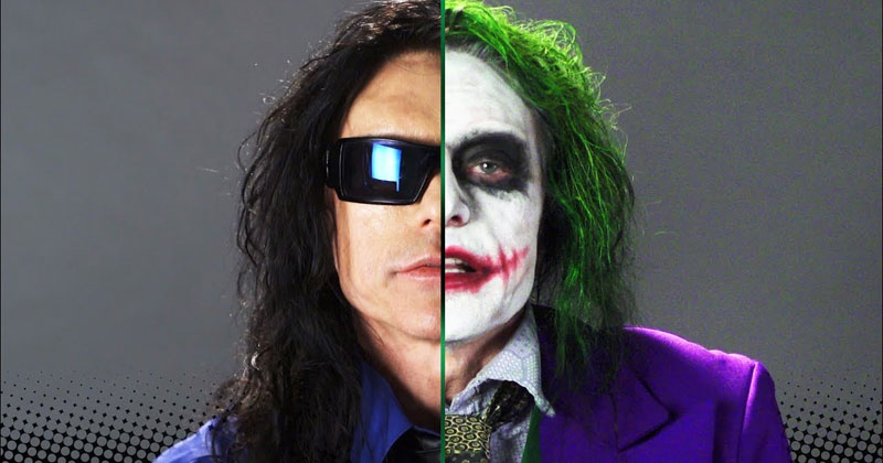 Tommy Wiseau Wants to Be the Next Joker and This is His Audition Tape