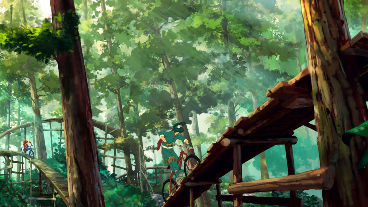 The Artwork For Oregons Anime Inspired Tourism Spot Is Beautiful