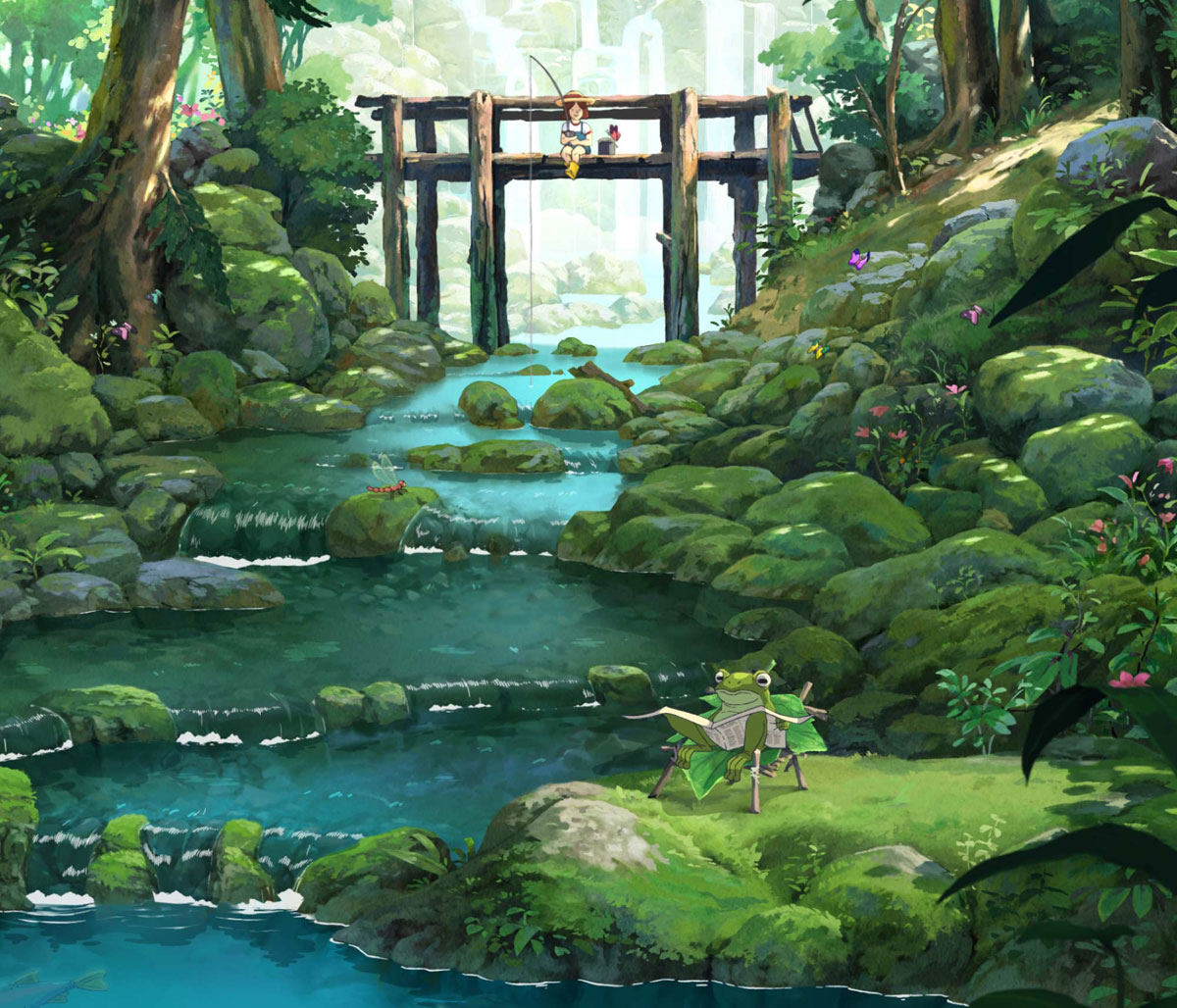 travel oregon anime 8 The Artwork for Oregons Anime Inspired Tourism Spot is Beautiful