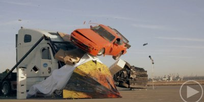 Remembering the Badass Wedge Truck from the MythBustersFinale
