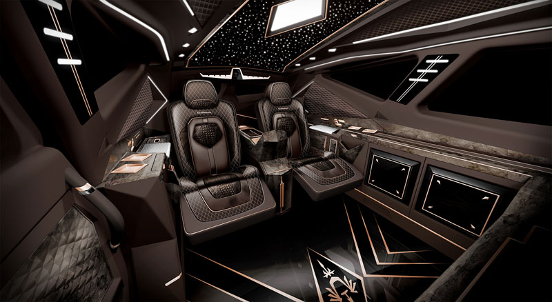 worlds most expensive suv karlmann king 11 The Outrageous SUV Inspired by the Stealth F 117 Nighthawk (21 Pics)