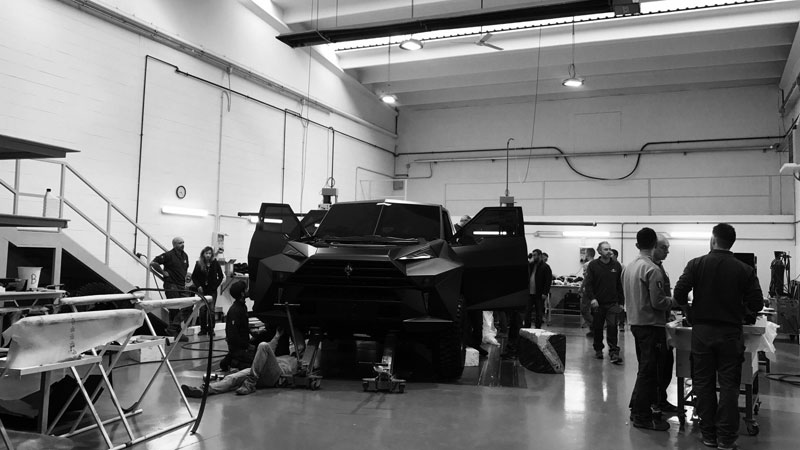 worlds most expensive suv karlmann king 2 The Outrageous SUV Inspired by the Stealth F 117 Nighthawk (21 Pics)