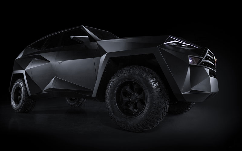 worlds most expensive suv karlmann king 20 The Outrageous SUV Inspired by the Stealth F 117 Nighthawk (21 Pics)