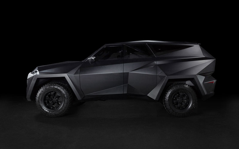 worlds most expensive suv karlmann king 3 The Outrageous SUV Inspired by the Stealth F 117 Nighthawk (21 Pics)