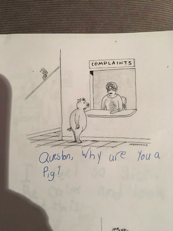 9 year old new yorker comic captions twitter viral 12 This 9 Year Old Girl Loves the New Yorkers Cartoon Caption Contest