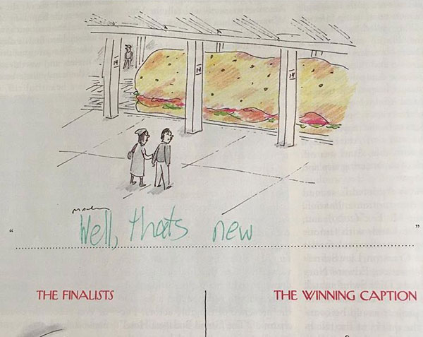 9 year old new yorker comic captions twitter viral 6 This 9 Year Old Girl Loves the New Yorkers Cartoon Caption Contest