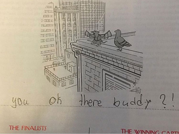 9 year old new yorker comic captions twitter viral 7 This 9 Year Old Girl Loves the New Yorkers Cartoon Caption Contest