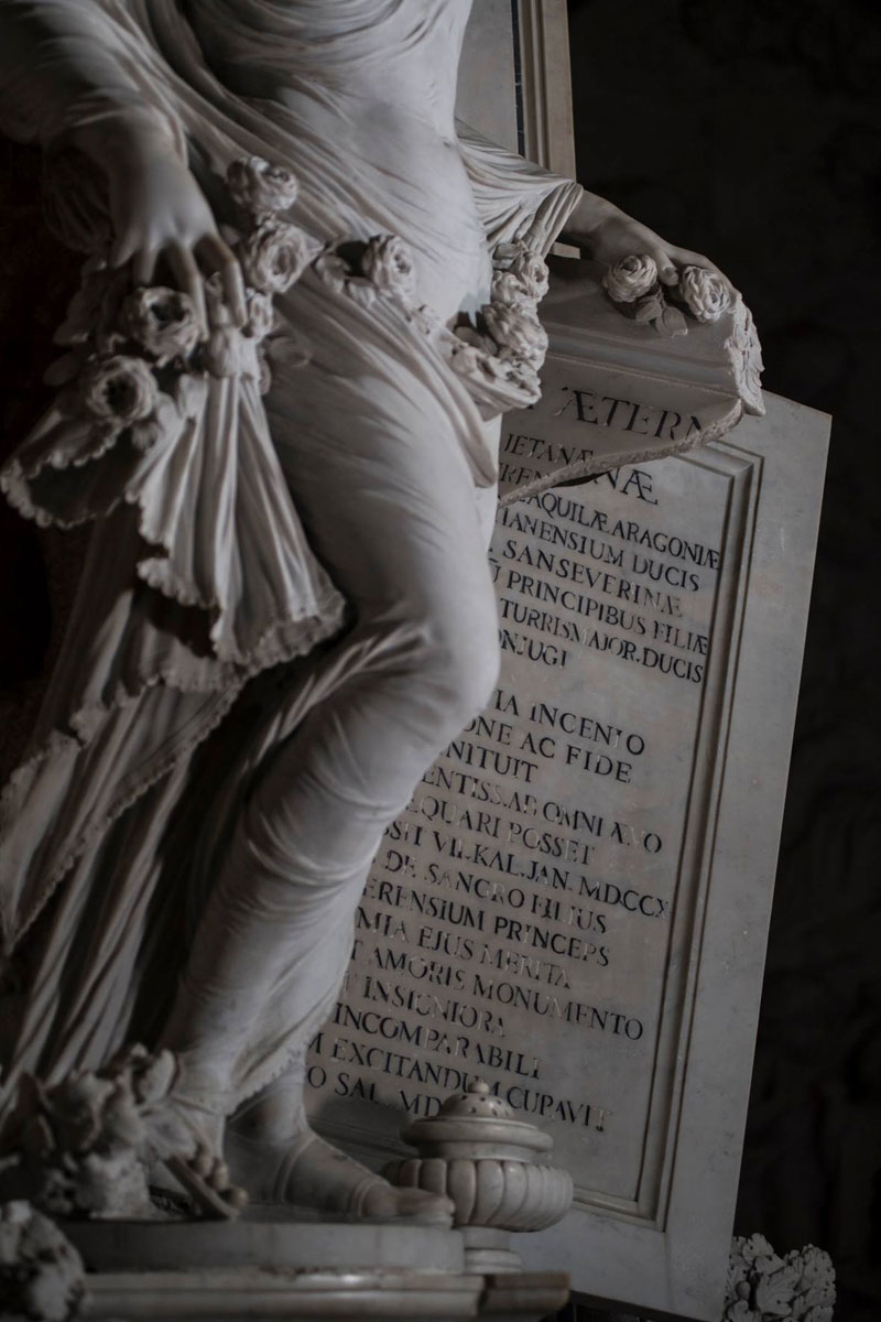 antonio corradini modesty marble sculpture veil 2 This Tiny Chapel is Home to Some of the Greatest Marble Sculptures in History