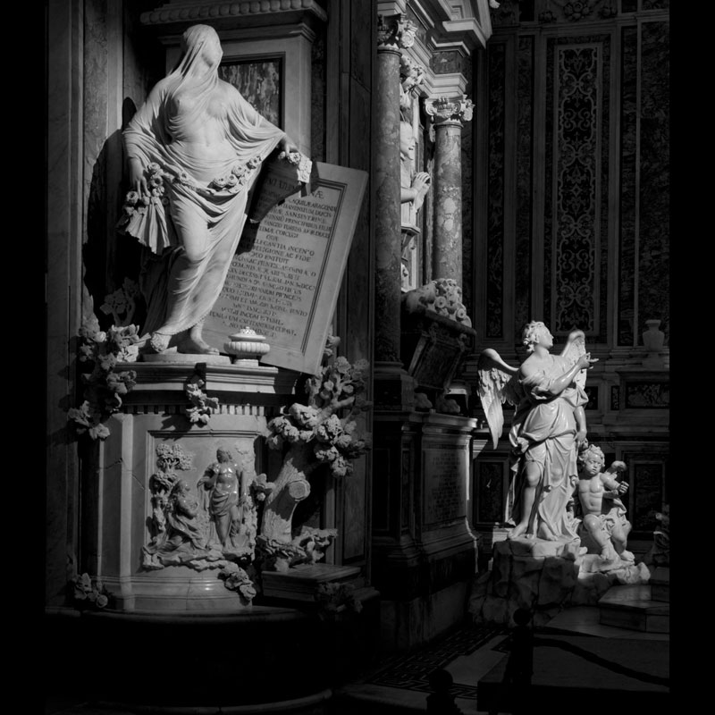 antonio corradini modesty marble sculpture veil 3 This Tiny Chapel is Home to Some of the Greatest Marble Sculptures in History