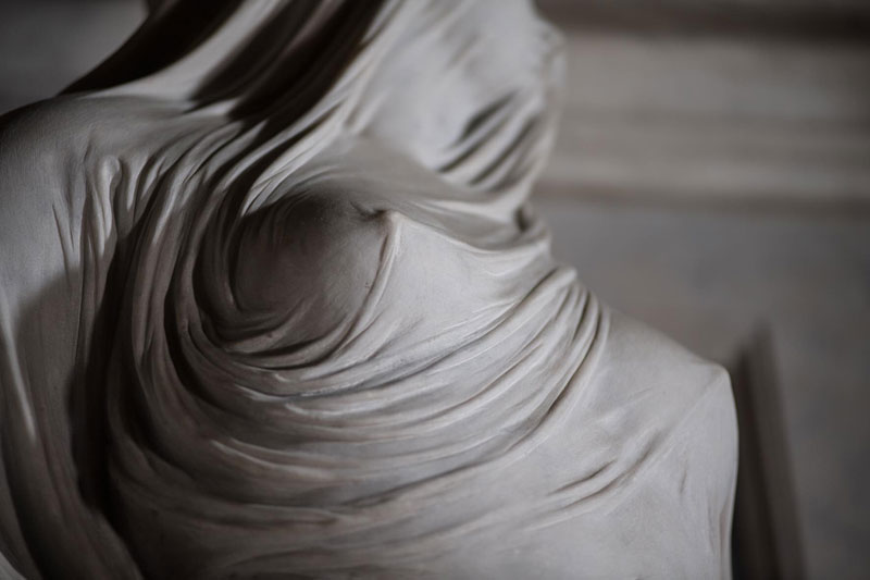 antonio corradini modesty marble sculpture veil 5 This Tiny Chapel is Home to Some of the Greatest Marble Sculptures in History
