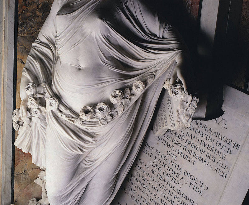 antonio corradini modesty marble sculpture veil 7 This Tiny Chapel is Home to Some of the Greatest Marble Sculptures in History