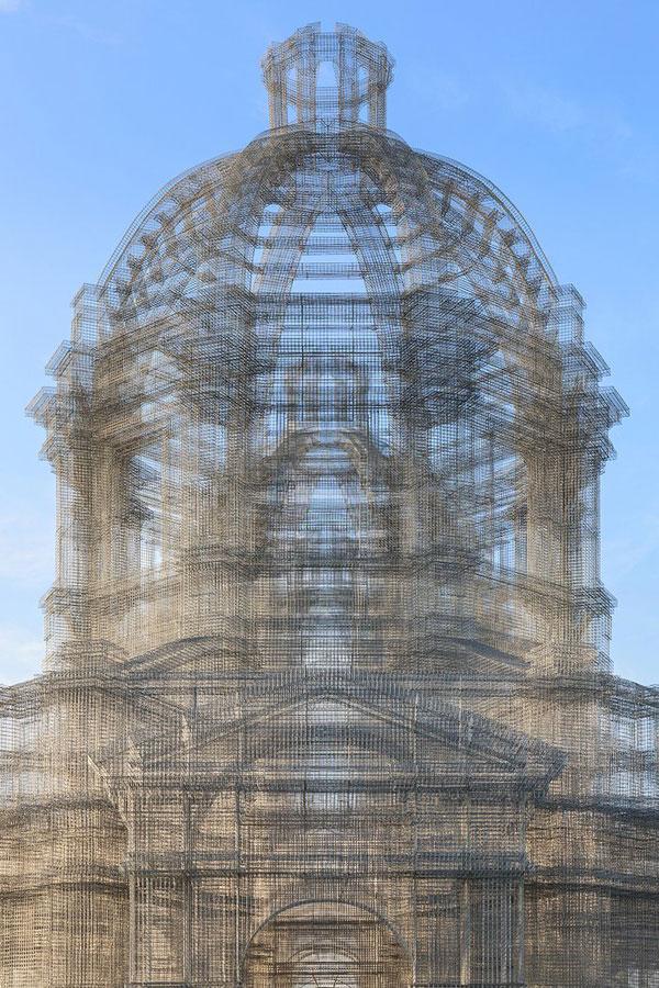 etherea by edoardo tresoldi coachella mesh sculpture 9 The Incredible Wire Mesh Sculptures that Punctuated the Coachella Skyline