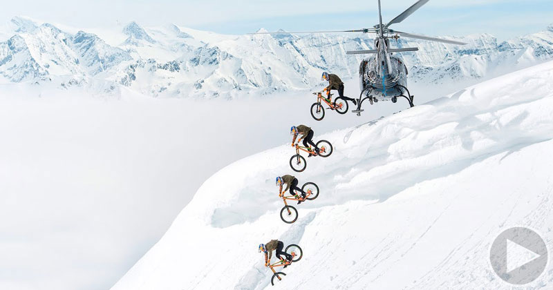 Mountain Biking Down a Ski Mountain is as Badass as it Sounds