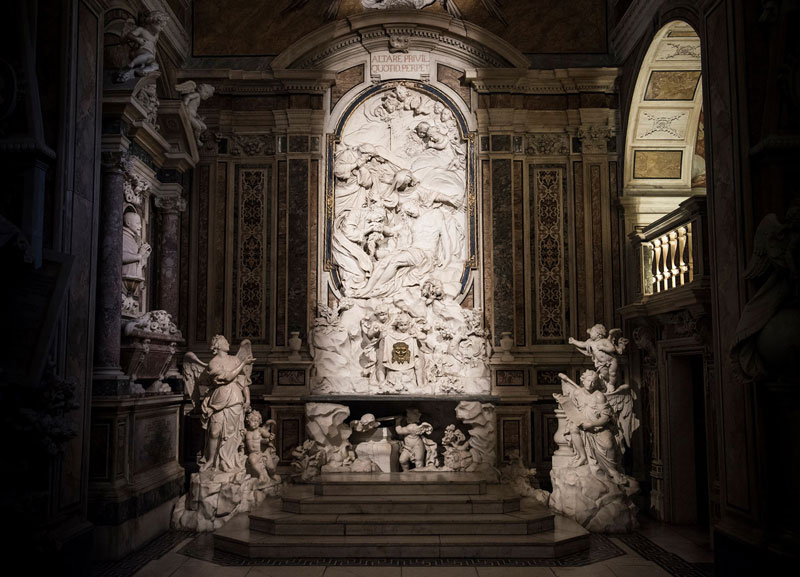 francesco celebrano and paolo persico high altar 2 This Tiny Chapel is Home to Some of the Greatest Marble Sculptures in History