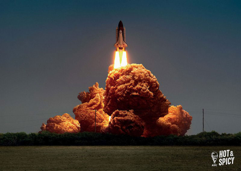 giant fiery explosions only its kfc fried chicken 1 Giant, Fiery Explosions Only Its KFC Fried Chicken