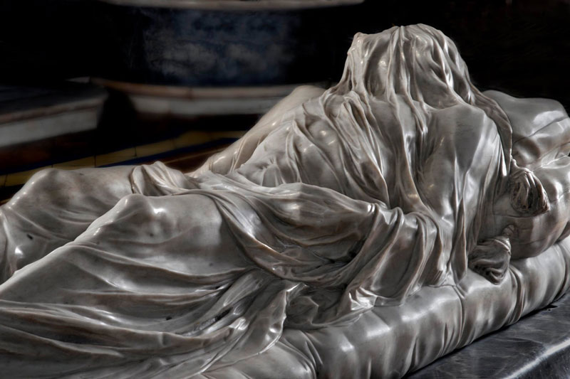 giuseppe sanmartino veiled christ marble sculpture shroud 3 This Tiny Chapel is Home to Some of the Greatest Marble Sculptures in History