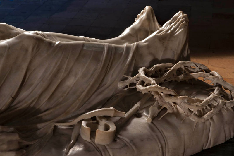 giuseppe sanmartino veiled christ marble sculpture shroud 7 This Tiny Chapel is Home to Some of the Greatest Marble Sculptures in History