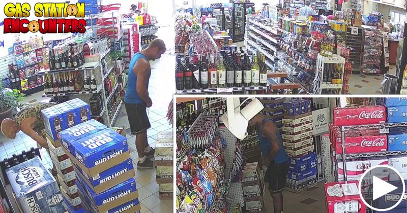 Guy Turns Video of Gas Station Thief Into Vanilla IceParody