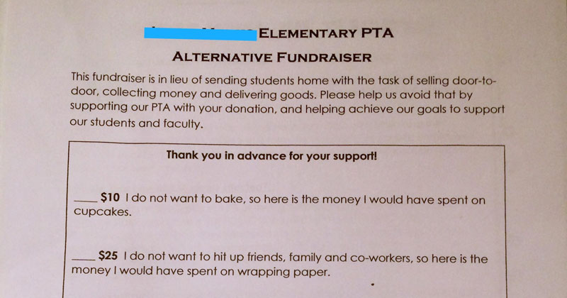 pta alternative fundraiser letter reddit cover PTAs Alternative Fundraiser Gets Internet Seal of Approval