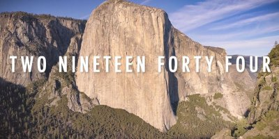 Amazing Timelapse Shows 'Unbreakable' El Capitain Speed Record Being Broken
