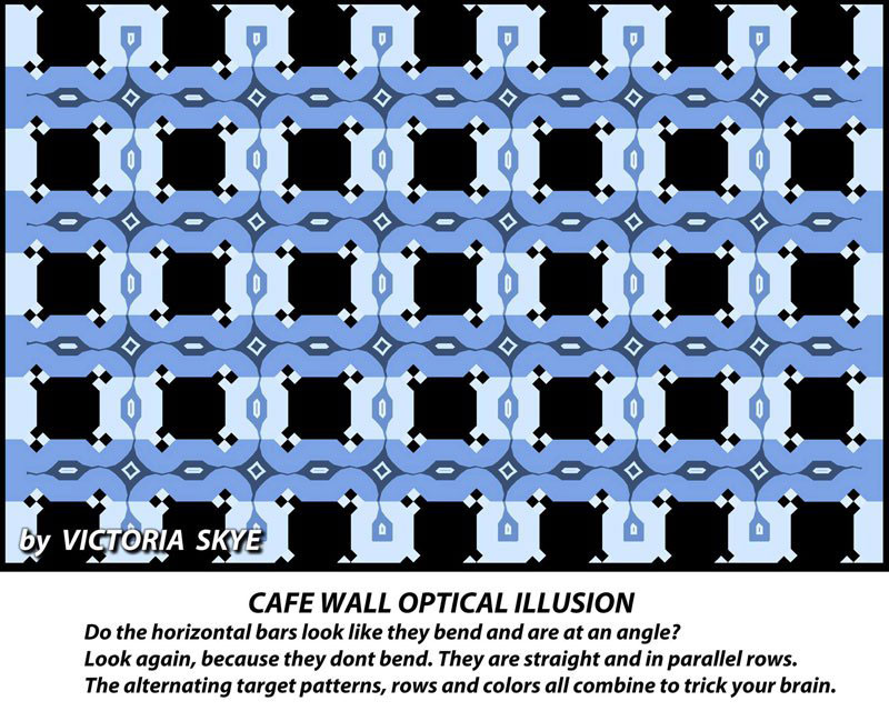 victoria skye cafe wall optical illusion 1 1 of these 3 Illusions Will Make You Question Your Eyesight