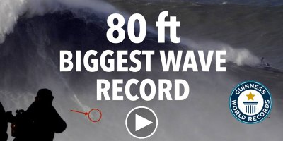 This is the Official World Record for the Biggest Wave EverSurfed