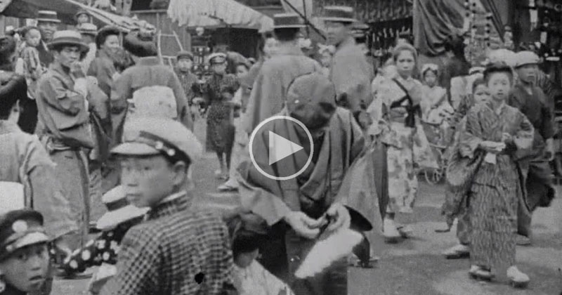 Fascinating HQ Video of Japanese Life from 100+ YearsAgo