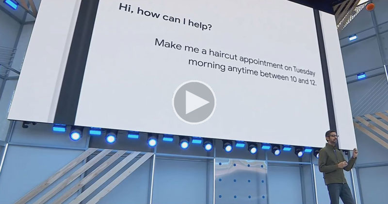 Google Just Demoed Its Assistant Making Actual F%*&$!@ PhoneCalls