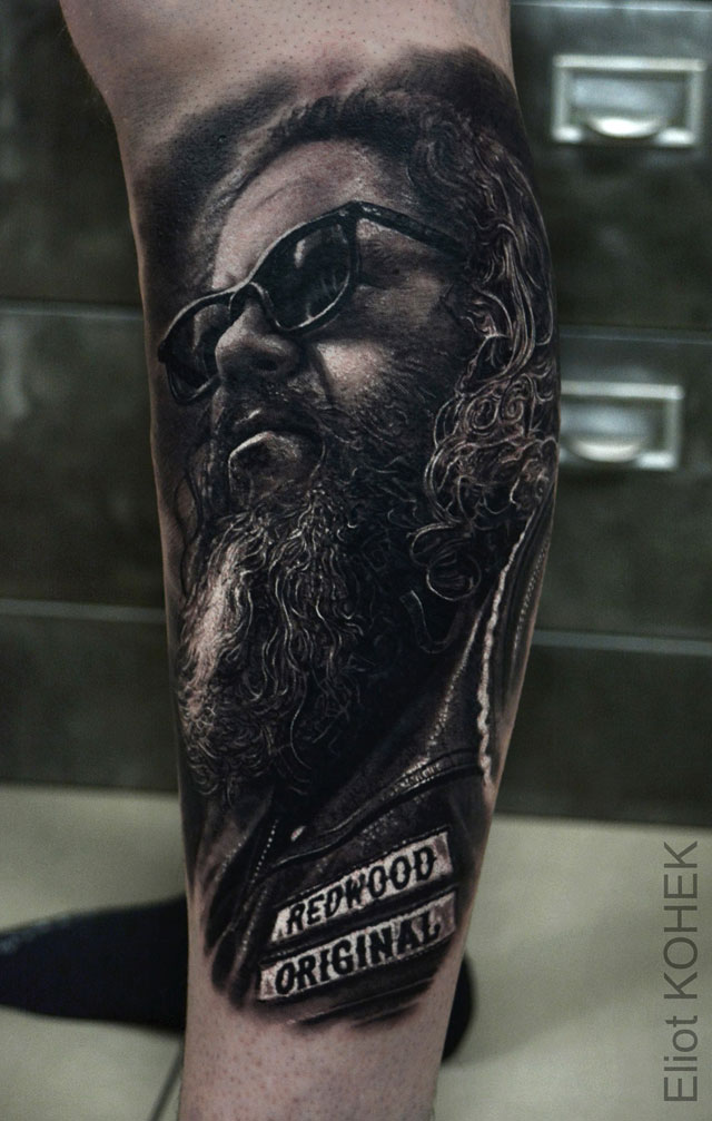 incredibly realistic 3d tattoos by eliot kohek 4 14 Incredibly Realistic 3D Tattoos by Eliot Kohek