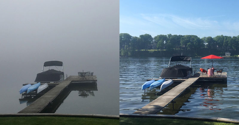 Meanwhile in Michigan: 9am vs11am
