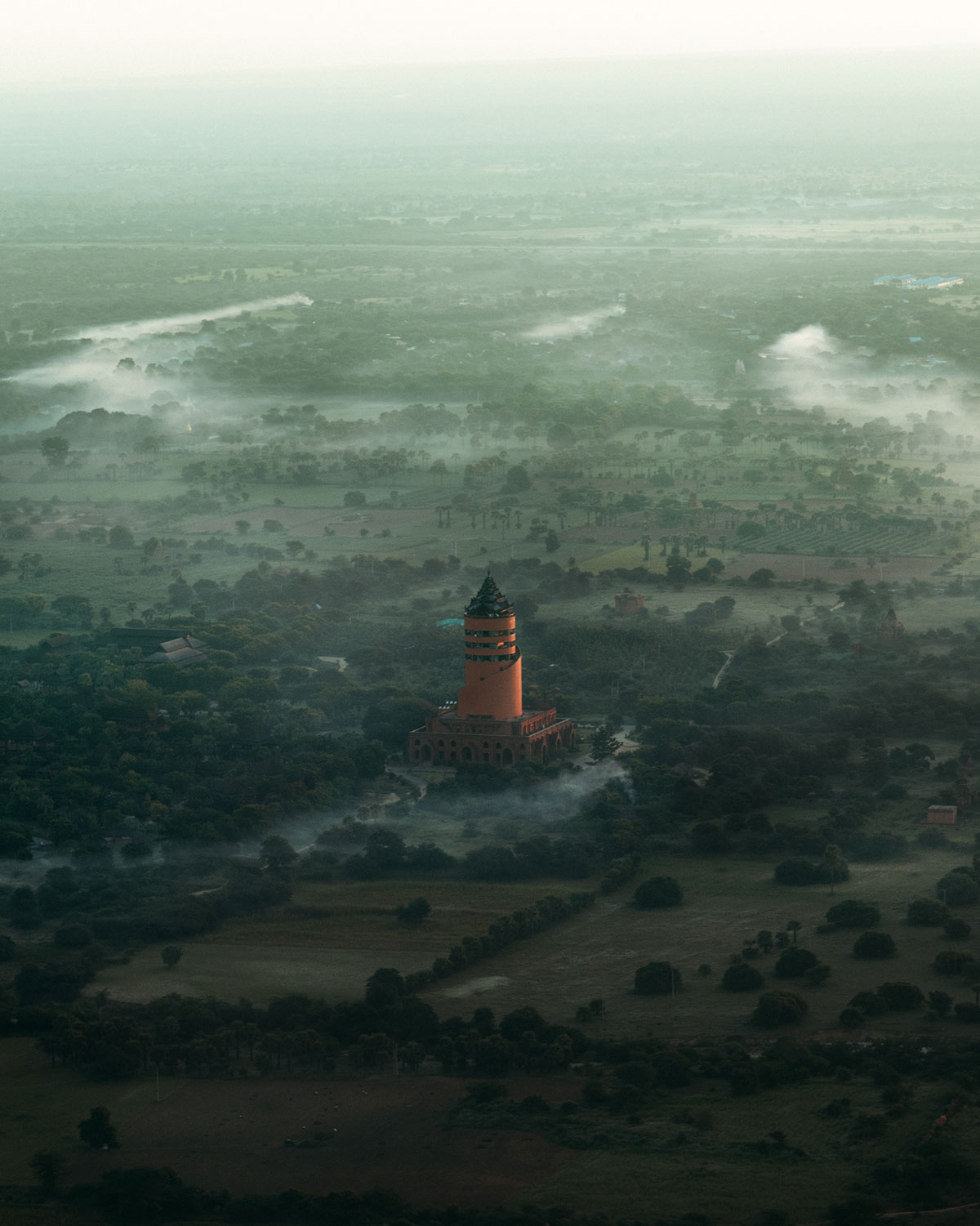 myanmar temples from above by dimitar karanikolov 10 The Amazing Temples of Myanmar from Above (10 Photos)