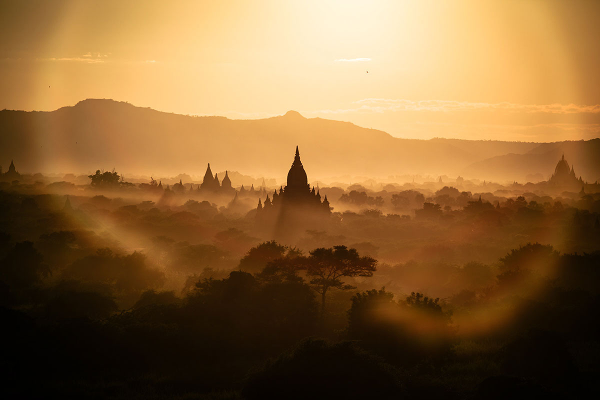 myanmar temples from above by dimitar karanikolov 6 The Amazing Temples of Myanmar from Above (10 Photos)
