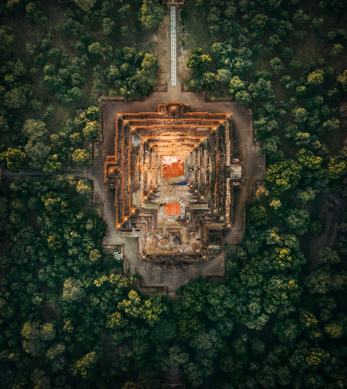 myanmar temples from above by dimitar karanikolov 7 The Amazing Temples of Myanmar from Above (10 Photos)