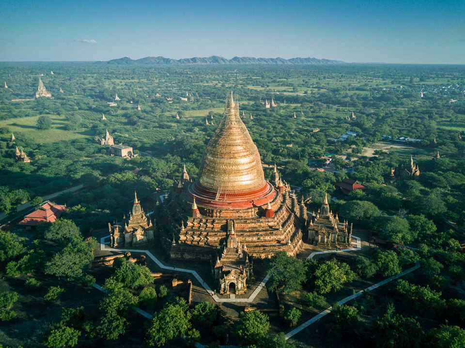 myanmar temples from above by dimitar karanikolov 8 The Amazing Temples of Myanmar from Above (10 Photos)