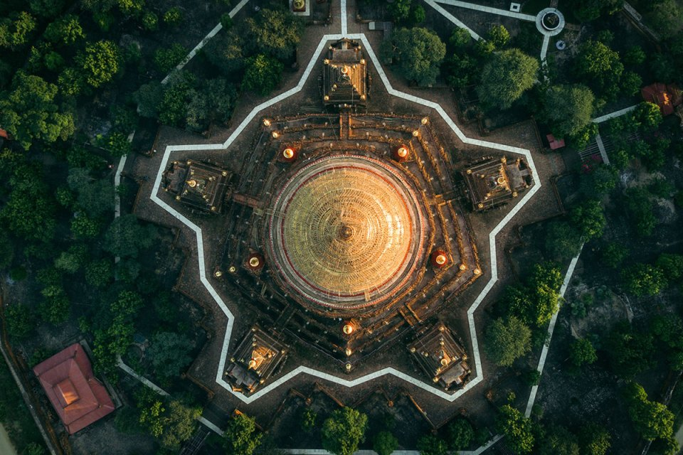 myanmar temples from above by dimitar karanikolov 9 The Amazing Temples of Myanmar from Above (10 Photos)