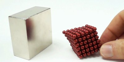 Slow Motion Magnet Collisions at 1000fps