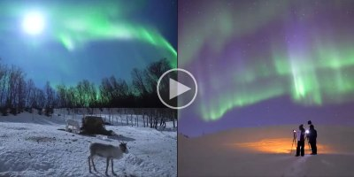 This Video Really Captures the Awe and Wonder of the Northern Lights