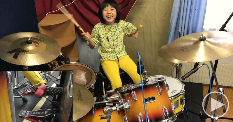 This 8 Year Old Drummer Slaying Zeppelin is Giving MeLife