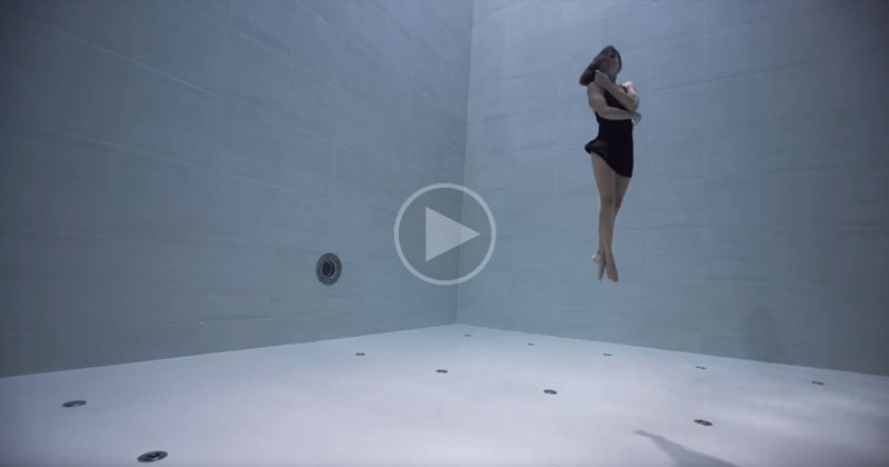This Underwater Dance by Julie Gautier is Simply Beautiful