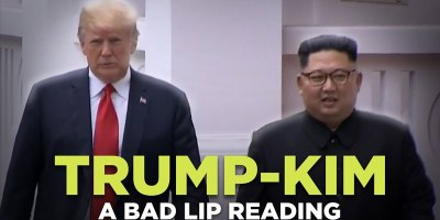 A Bad Lip Reading of the Trump/KimSummit