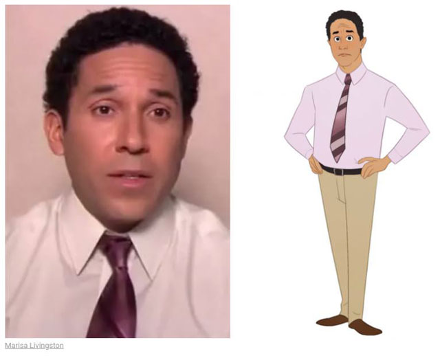 cast of the office as cartoon characters by marisa livingston 22 What Each Character Would Look Like in a Cartoon Version of The Office