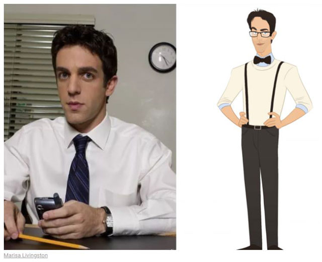 cast of the office as cartoon characters by marisa livingston 25 What Each Character Would Look Like in a Cartoon Version of The Office