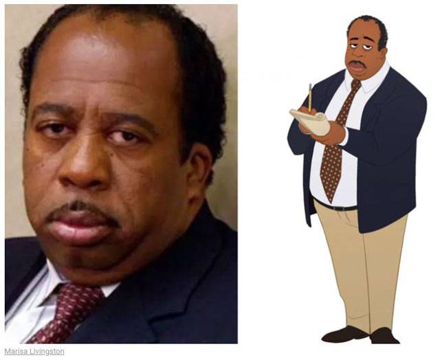 cast of the office as cartoon characters by marisa livingston 26 What Each Character Would Look Like in a Cartoon Version of The Office