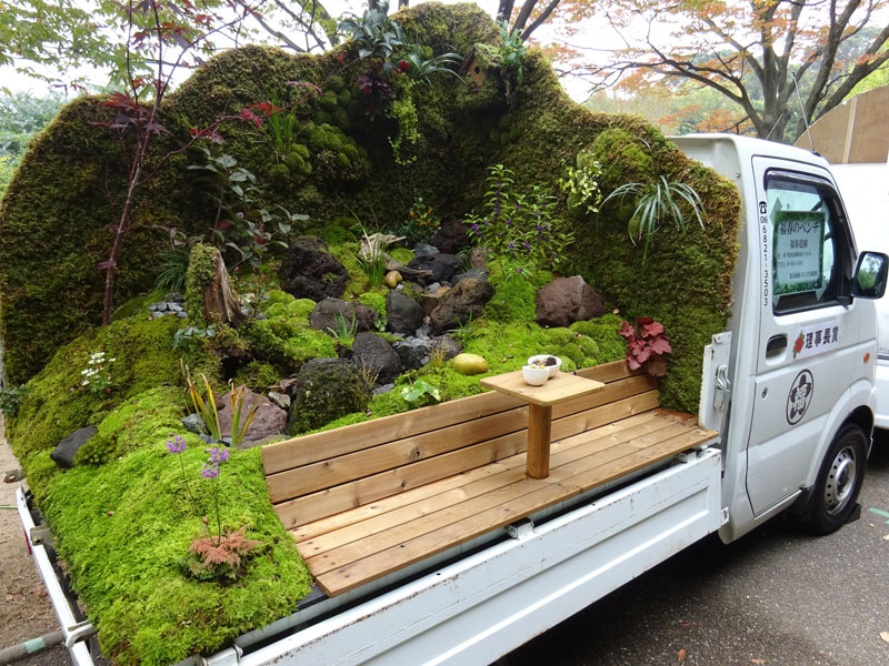 japanese mini trucks garden contest 1 Theres a Garden Contest on the Backs of Japanese Mini Trucks and Its Awesome