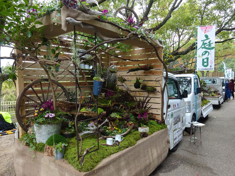 japanese mini trucks garden contest 10 Theres a Garden Contest on the Backs of Japanese Mini Trucks and Its Awesome