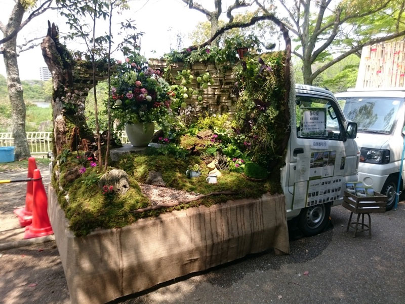 japanese mini trucks garden contest 12 Theres a Garden Contest on the Backs of Japanese Mini Trucks and Its Awesome