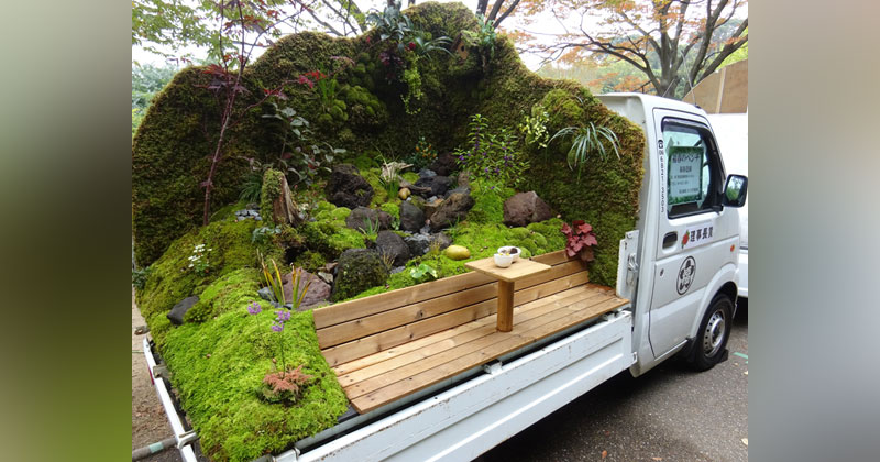 There's a Garden Contest on the Backs of Japanese Mini Trucks and It's Awesome