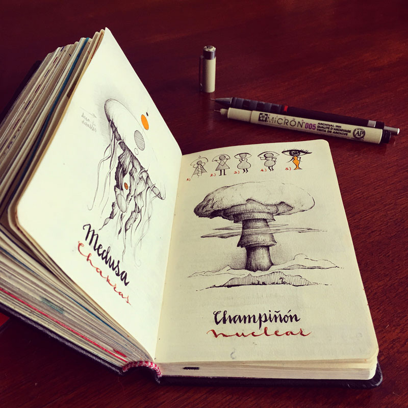jose naranja sketchbooks gallery 13 This Artist Keeps the Most Beautiful Sketchbooks I Have Ever Seen
