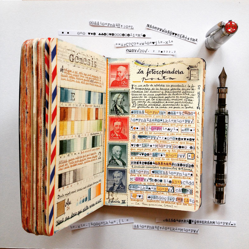 jose naranja sketchbooks gallery 16 This Artist Keeps the Most Beautiful Sketchbooks I Have Ever Seen